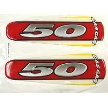 ADHESIF STICKER DE SELLE TRIAL ROOKIE 50CC GAS GAS