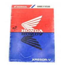 MANUEL UTILISATION XR 250 R 1997 HONDA