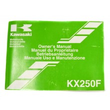 MANUEL UTILISATION 250 KXF 2006 KAWASAKI