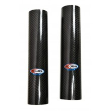 Protection tube de fourche inférieur Carbone
