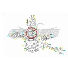 PISTON D COMPLET  EC  MX SMC 125  200  DIAM  62.48MM 2001 A 2009 GAS GAS