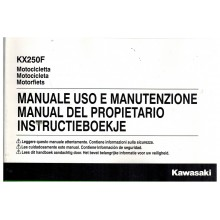 MANUEL UTILISATION 250 KXF 2016 KAWASAKI