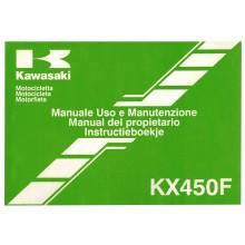 MANUEL UTILISATION 450 KXF 2006 KAWASAKI