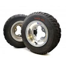 Paire roues avant ALU quad DVX LTZ LTR KFX TRX CAN-AM,,