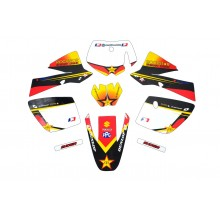 Kit déco KTM 50 ROCKSTAR