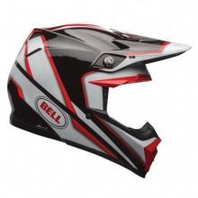 CASQUE MOTO-9 SPARK RED/BLACK