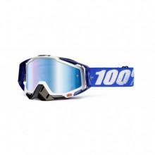 MASQUE RACECRAFT COBALT BLUE-MIRROR BLUE LENS