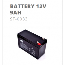 Batterie 12V 9AH pour Kuberg 24V START / TRIAL S