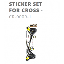 Kit stickers Kuberg Cross noir