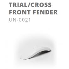 Garde-boue avant blanc Kuberg Trial / Cross pré 2017