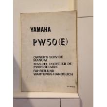 REVUE TECHNIQUE/MANUEL D'UTILISATION YAMAHA PW50 (K)