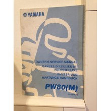 REVUE TECHNIQUE/MANUEL D'UTILISATION YAMAHA PW80 (L)