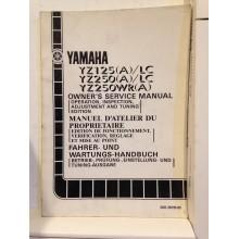 REVUE TECHNIQUE/MANUEL D'UTILISATION YAMAHA YZ85-LC/85LW(S) 2002