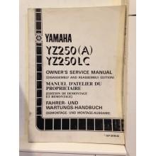 REVUE TECHNIQUE/MANUEL D'UTILISATION YAMAHA TT-R125/E/LW/LWE(S)