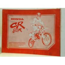 REVUE TECHNIQUE/MANUEL D'ENTRETIEN HONDA CR125R 1996