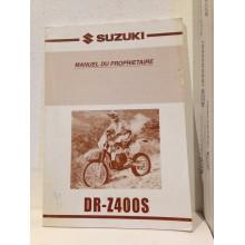 REVUE TECHNIQUE/MANUEL DU PROPRIÉTAIRE SUZUKI DR-Z400S