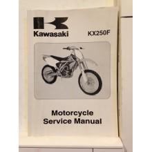 REVUE TECHNIQUE/ MANUEL D'UTILISATION KAWASAKI KX125/250