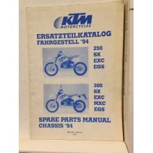 REVUE TECHNIQUE/ MANUEL D'UTILISATION KTM 250/300SX