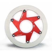 Disque frein Aeronal® Gauche Piste Fonte Beringer CCM1LGF GAS GAS SM 2000-03