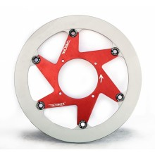 Disque frein Aeronal® Gauche Piste Fonte Beringer H9LGF HONDA CR / CRF / HM CRE