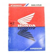 REVUE TECHNIQUE/MANUEL UTILISATION XR 250 R 1998 HONDA
