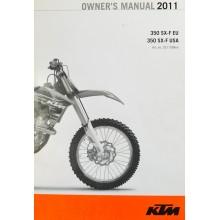 MANUEL UTILISATION ANGLAIS SXF 350 2011 KTM