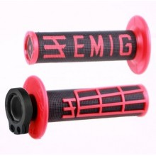 REVÊTEMENTS LOCK-ON ODI EMIG V2 NOIR/ROUGE