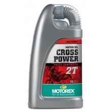 HUILE MOTEUR MOTOREX CROSS POWER 2T SYNTHÉTIQUE 1L