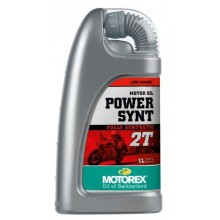 HUILE MOTEUR MOTOREX POWER SYNTH 2T SYNTHÉTIQUE 1L