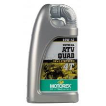 HUILE MOTEUR MOTOREX ATV QUAD 4T 10W40 SEMI-SYNTHÉTIQUE 1L