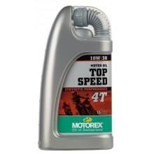 HUILE MOTEUR MOTOREX TOP SPEED 4T 10W30 SYNTHÉTIQUE 1L