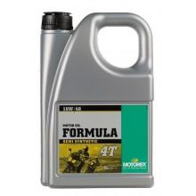 HUILE MOTEUR MOTOREX FORMULA 4T 10W40 SEMI-SYNTHÉTIQUE 4L