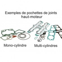 POCHETTE DE JOINTS HAUT MOTEUR POUR YAMAHA YBR/TTR125 & GAS GAS TX125 RANDONNEE/ SCORPA TY-125F