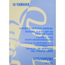 MANUEL UTILISATION WRF 250 2007 YAMAHA