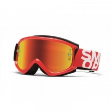 LUNETTES SMITH FUEL V.1 MAX GLOSS RED