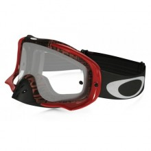 MASQUE OAKLEY CROWBAR DISTRESS TAGLINE RED ÉCRAN TRANSPARENT
