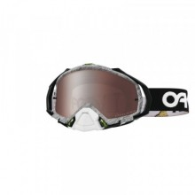 MASQUE OAKLEY MAYHEM PRO FACTORY PILOT BLACK/WHITE ÉCRAN PRIZM MX BLACK IRIDIUM
