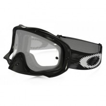 MASQUE OAKLEY CROWBAR JET BLACK SPEED ÉCRAN TRANSPARENT
