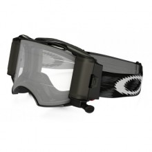 MASQUE OAKLEY AIRBRAKE RACE-READY ROLL-OFF JET BLACK SPEED ÉCRAN TRANSPARENT