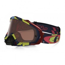MASQUE OAKLEY MAYHEM PRO TROY LEE DESIGNS ÉCRAN PRIZM MX BRONZE