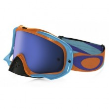 MASQUE OAKLEY CROWBAR HERITAGE RACER BRIGHT ORANGE ÉCRAN ICE IRIDIUM