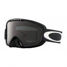 MASQUE OAKLEY O FRAME 2.0 SAND JET BLACK ÉCRAN DARK GREY + TRANSPARENT
