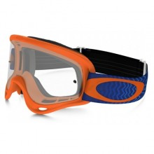 MASQUE OAKLEY XS O FRAME SHOCKWAVE NEON ORANGE ÉCRAN TRANSPARENT