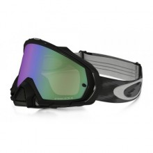 MASQUE OAKLEY MAYHEM PRO JET BLACK ÉCRAN PRIZM MX JADE IRIDIUM