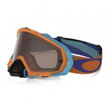 MASQUE OAKLEY MAYHEM PRO HERITAGE RACER NEON ORANGE ÉCRAN PRIZM MX BLACK IRIDIUM