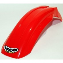 GARDE-BOUE AVANT UFO ROUGE HONDA CR80/CR85