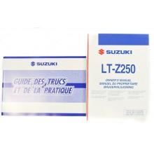 LOT REVUES TECHNIQUES/MANUELS LTZ 250 2007 SUZUKI