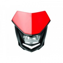 PLAQUE PHARE POLISPORT HALO ROUGE/NOIR