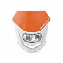 PLAQUE PHARE POLISPORT HALO LED ORANGE/BLANC