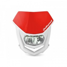 PLAQUE PHARE POLISPORT HALO LED ROUGE/BLANC
